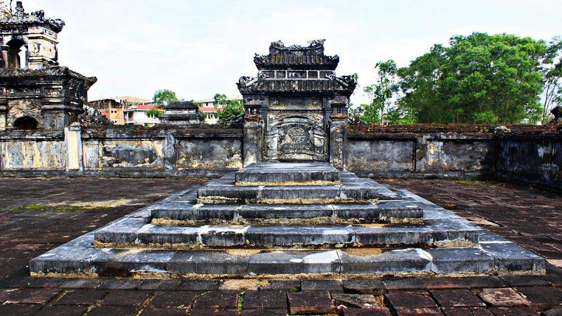 Tomb of Emperor Gia Long - The First King of the Nguyen Dynasty