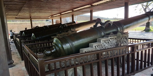 9 Holy Cannons Hue City